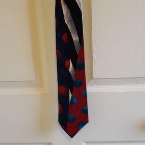 Louis Feraud Multi Color Tie
